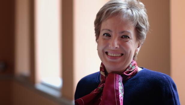 Roberta Lajous Vargas, emabjadora de México en España, en el Ayuntamiento de Sevilla