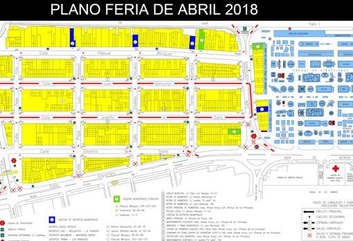 Mapa Feria Sevilla 2019.Mapa Feria Sevilla Mapa
