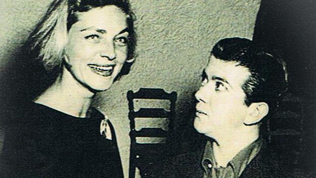 Carlitos Fernández junto a Carlos Bacall