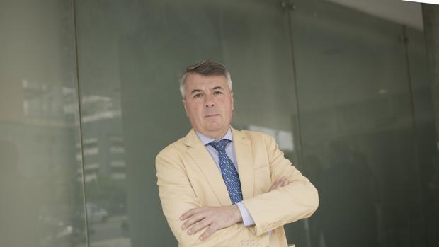 El abogado Agustín Martínez, defensor de cuatro de los cinco acusados de «La Manada»
