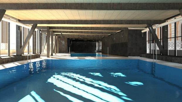 Sevilla cuenta atr s para la reapertura de la estaci n de san bernardo como un gimnasio de - Piscinas climatizadas en sevilla ...