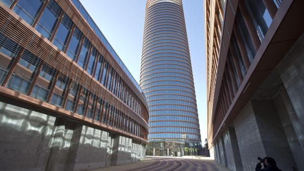 El hotel se encuentra entre las plantas 25 y 36 del rascacielos