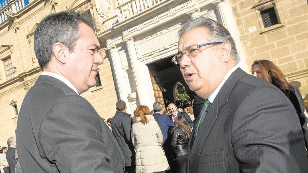Juan Espadas y Juan Ignacio Zoido