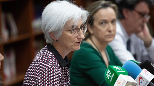 María José Segarra continúa con sus labores como fiscal jefe de Sevilla