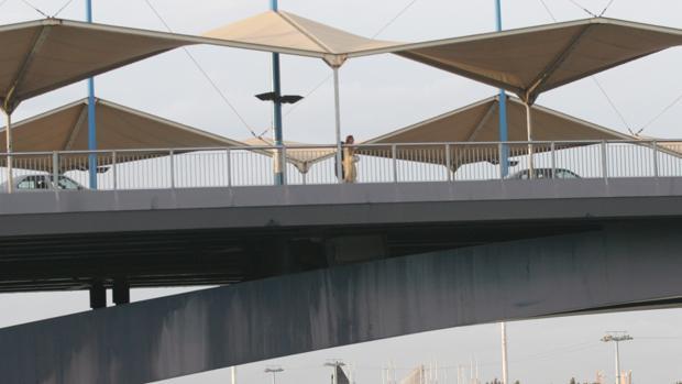 Puente del Cristo de la Expiración , donde se produjo el suceso