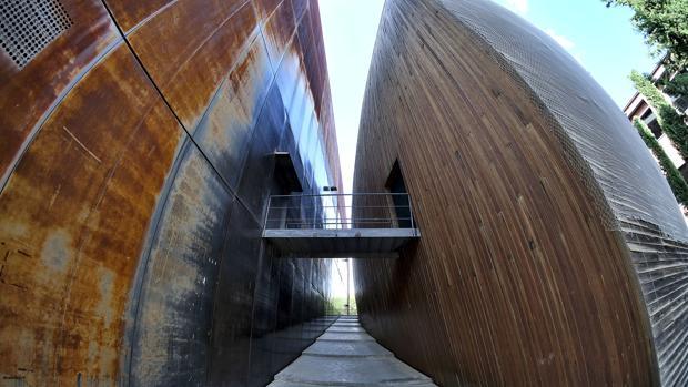 El Pabellón de Finlandia, sede de la Fundación Fidas