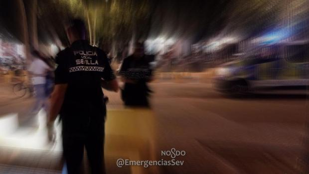 Los hechos se han producido en la noche de este viernes en el Distrito San Pablo-Santa Justa
