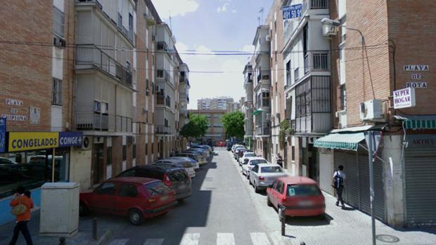 Calles con nombres de playas en Sevilla