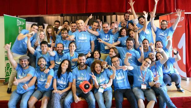 Participantes del encuentro celebrado en Sevilla