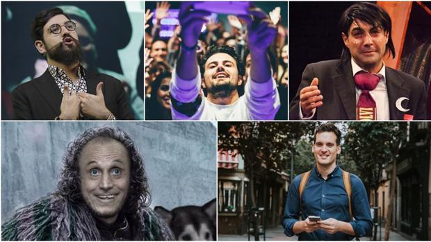 Julio Muñoz, Juan Amodeo, @mrlopera, el Bizcocho y Manu Sánchez opinan sobre el humor que se da en Sevilla