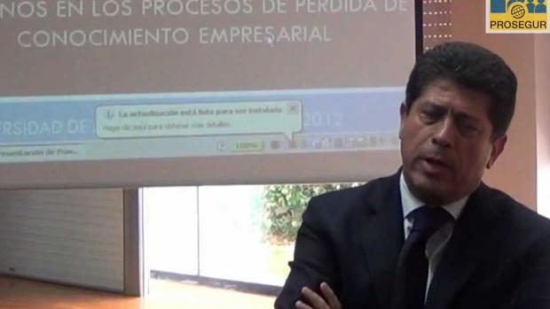 El catedrático Antonio Leal