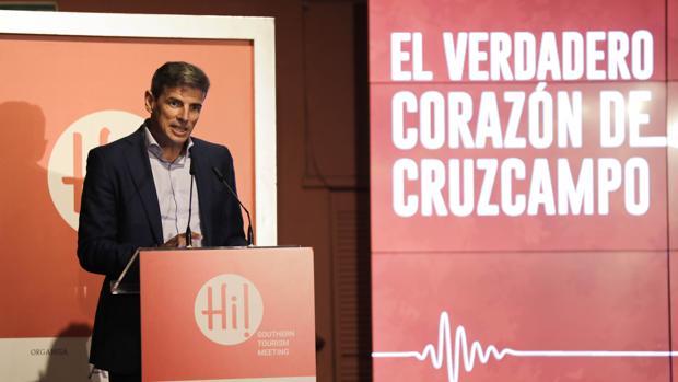 El director de relaciones corporativas de Heineken, Marcos Tarancón