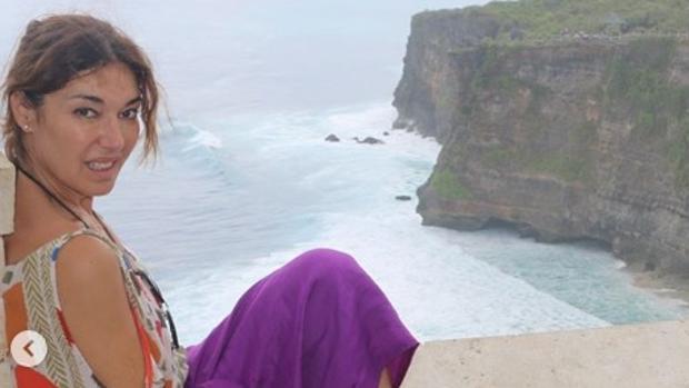 La modelo y empresaria sevillana Raquel Revuelta, durante sus vacaciones en Indonesia