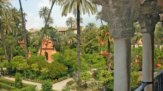 Jardin de los Reales Alcázares de Sevilla