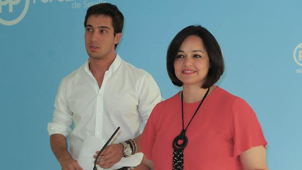 Los populares Virginia Pérez y Luis Paniagua