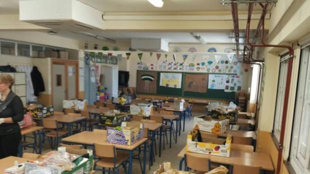 Educación habilita un aula vacía como comedor para los niños del ...