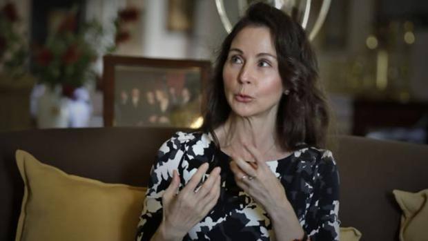 Mercedes Alaya durante la entrevista que concedió a ABC Sevilla