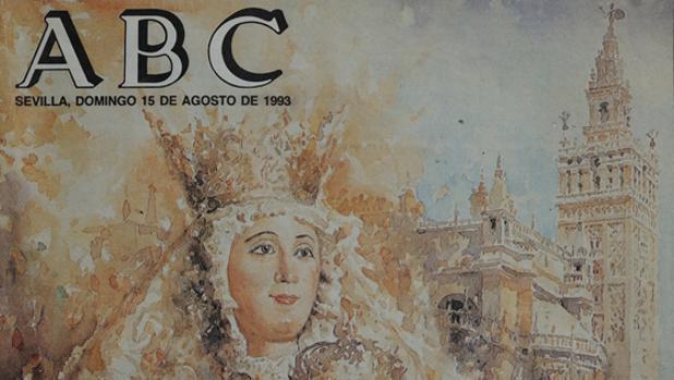 Portada de ABC de Sevilla obra de José González García