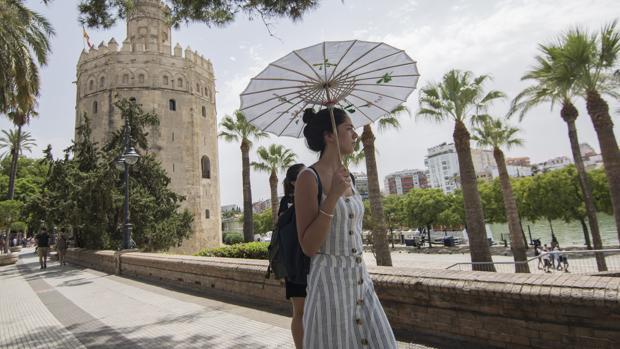 Sevilla llegará este fin de semana a los 40 grados