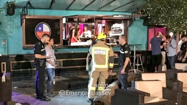El suceso ocurrió en un conocido bar de copas de la avenida de Chile