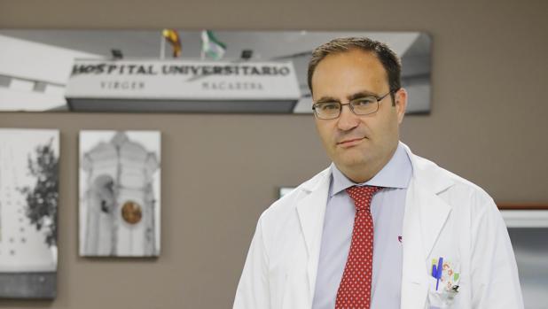 El médico de Famlia Antonio Castro lleva trabajando en la gestión de hospitales desde 2002