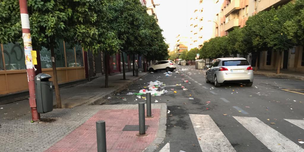 El PP denuncia que ha regresado «con fuerza» el botellón a las calles de Viapol