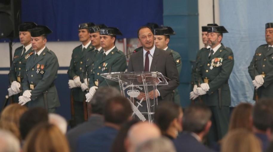 La Guardia Civil hace balance de «un año nada fácil» en Andalucía con motivo del Pilar
