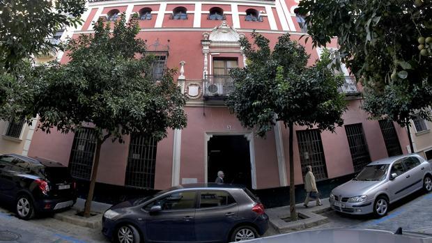 Casa que fue del marques de Monte Florido, de la que fue autor Aníbal González