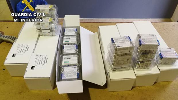 Imagen de las vacunas caducadas