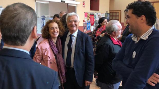 Baena Bocanegra en un acto en Alcalá