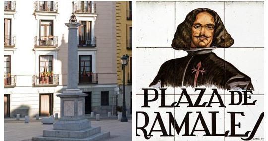 El monolito que podría apuntar el sitio donde se encuentran los restos de Velázquez