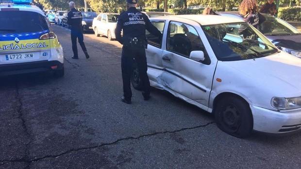 La Policía Local detiene a un hombre por no parar en un controlde tráfico