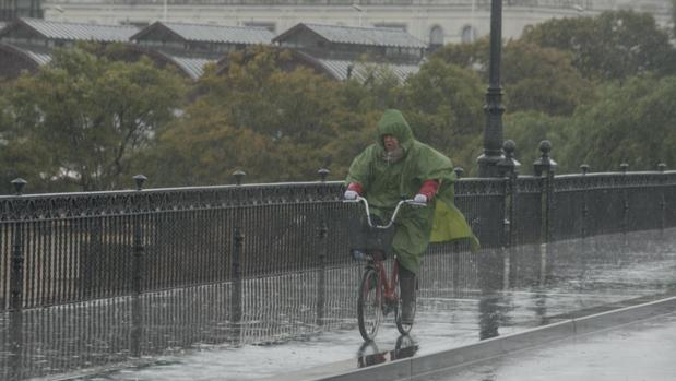 La lluvia ha sido especialmente intensa este jueves