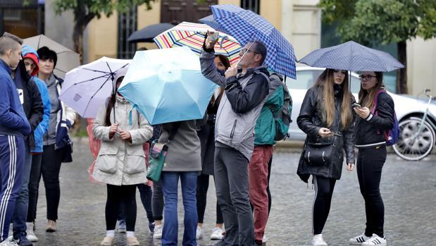 Las precipitaciones vuelven este domingo a la ciudad de Sevilla