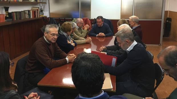 El alcalde de Sevilla ha informado a los vecinos