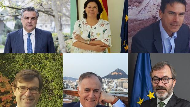 Seis sevillanos son hoy embajadores de España por el mundo