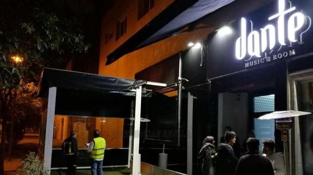 La discoteca Dante en la Avenida Emilio Lemos