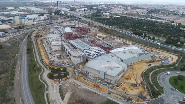 Sevilla La obra avanza y se prevé que el centro entre en funcionamiento  después del próximo verano ac029b987d2