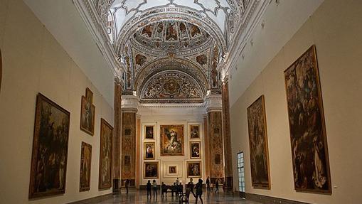 Sala principal del Museo de Bellas Artes de Sevilla
