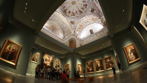 Recorrido por una de las salas del Museo de Bellas Artes