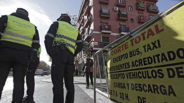 El plan de tráfico de Navidad se activa este jueves en Sevilla