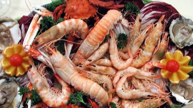 El marisco es pura proteína con muy bajo contenido en grasas