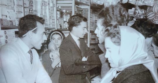 La mercería en 1961