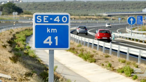 Uno de los tramos inaugurados de la SE-40