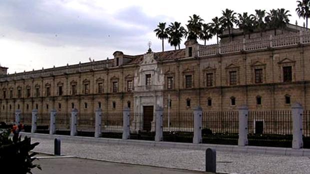 Fachada del Parlamento de Andalucía