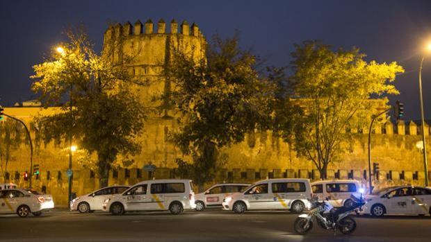 Huelga de taxistas celebrada el pasado 17 de noviembre