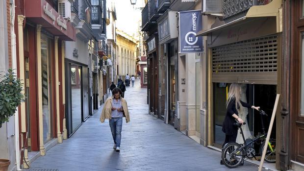 El comercio tradicional del Centro de Sevilla está en crisis