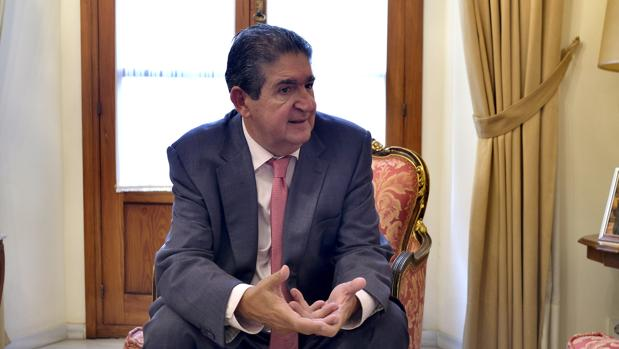 José Joaquín Gallardo, decano del Colegio de Abogados de Sevilla