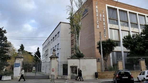 Las instalaciones de Altadis en Sevilla