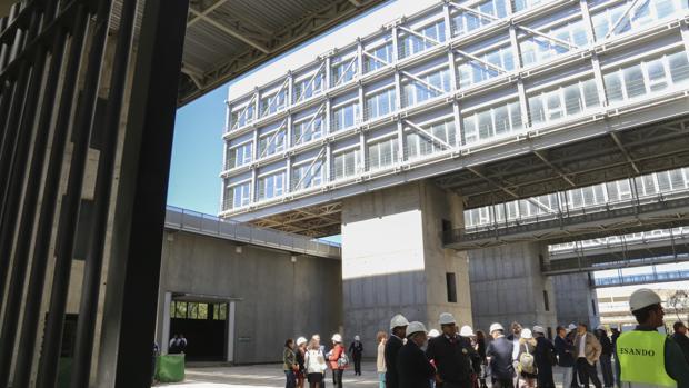Edificio Centrius donde se ubicará el Cateps